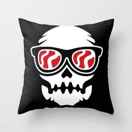 Coolskull Throw Pillow