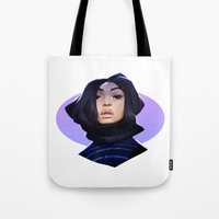 asian Tote Bags featuring Asian by Max Grecke