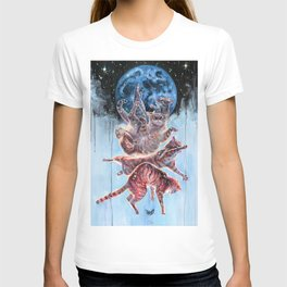 Felinoid Fall T-shirt
