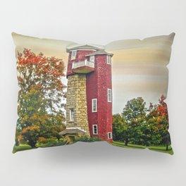 Autumn Water Tower Pillow Sham