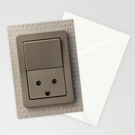 Smiling Power Outlet Stationery Cards