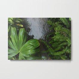 Tropical Rains Metal Print