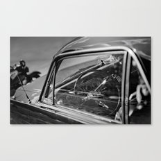 Car Cockpit 01 Canvas Print