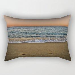 Barceloneta night Rectangular Pillow