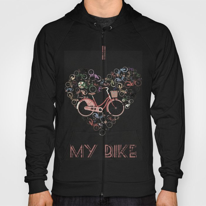 I Love My Bike Hoody