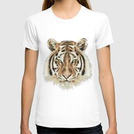 Stylized Tiger Portrait T-shirt