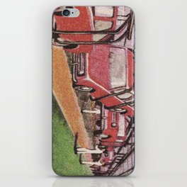 Conveying Cars iPhone Skin