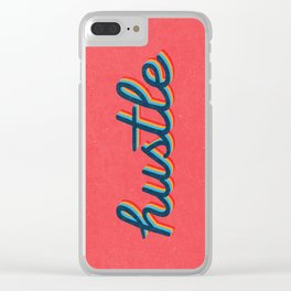 Hustle Clear iPhone Case