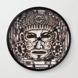 Mayan Mask Wall Clock