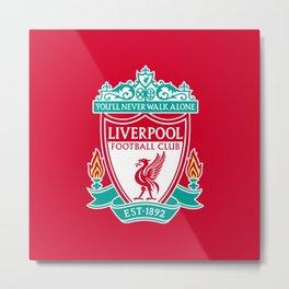 Liverpool F.C. Metal Print