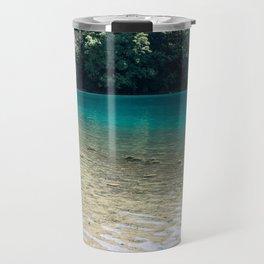 Plitvice beach Travel Mug