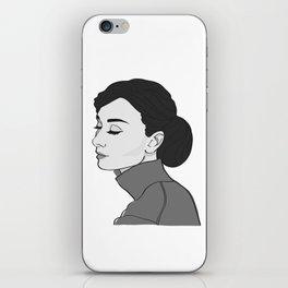 Miss Hepburn iPhone Skin