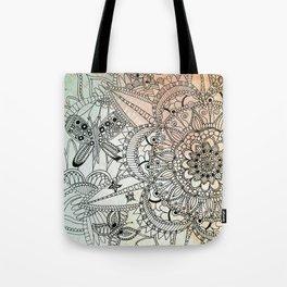 Butterfly Mandala Tote Bag