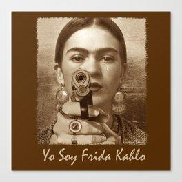 YO SOY FRIDA KAHLO Canvas Print