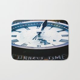 Correct Time Bath Mat
