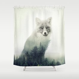 Fox, Forest Animal, Woodlands, Wilderness Shower Curtain