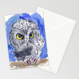 Watching (really watching) Stationery Cards