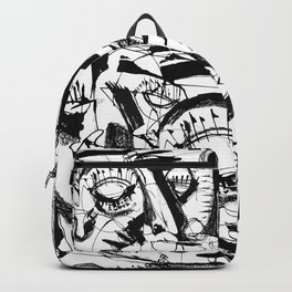 Shelter - b&w Backpack