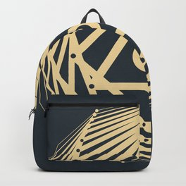Radiant Abundance (grey-gold) Backpack