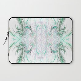 smoke on the flower of life Laptop Sleeve