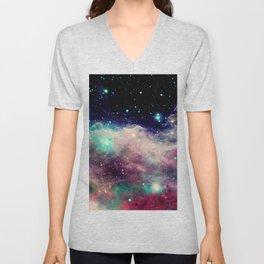 Eagle Nebula / Horsehead Nebula Deep Pastels Unisex V-Neck