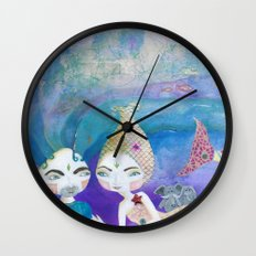 Two-getherness Wall Clock
