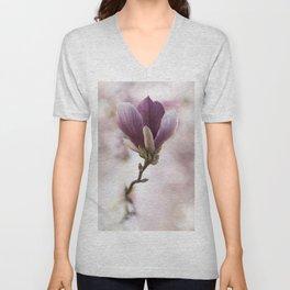 Soulange Magnolia Unisex V-Neck