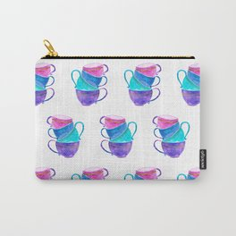 Stacked teacups Carry-All Pouch