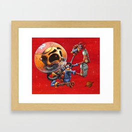 Spaceman Jimmy AKA Jimmy the Spaceman Framed Art Print