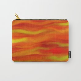 Pumpkin Spice and Butternut Squash Abstract Carry-All Pouch