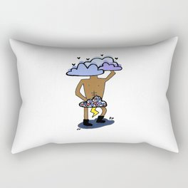 LOVE in the clouds Rectangular Pillow