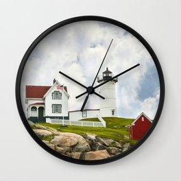 Nubble Light Wall Clock