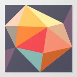 trigon violet Canvas Print
