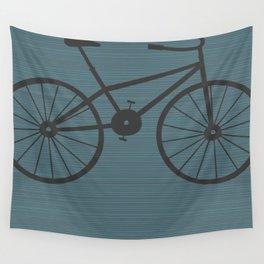Grey Bike by Friztin Wall Tapestry
