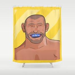 Dan Hendo Henderson Shower Curtain