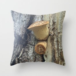 Naturals by Nikki - Sprouting Fungus Throw Pillow