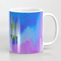 waterfall Mugs featuring Waterfall by DuckyB