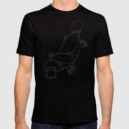 Minimalist Platypus T-shirt