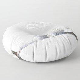Winter wonderland Floor Pillow