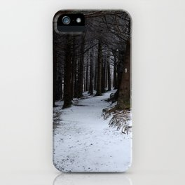 Winter on the AT iPhone Case