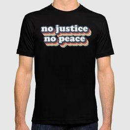 No Justice No Peace BLM 2020 T-shirt