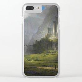 Ventus Castle Clear iPhone Case