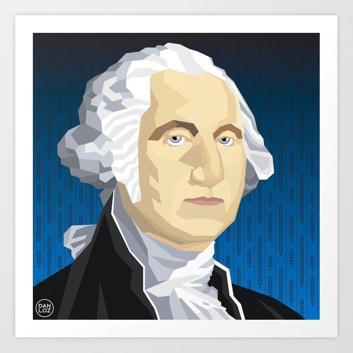 graphic about Printable Pictures of George Washington named George Washington Artwork Print by way of danloz