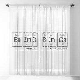 Bazinga Sheer Curtain