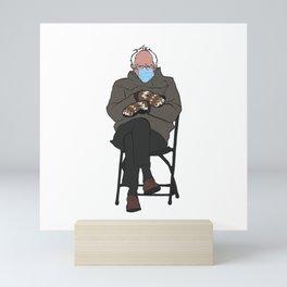 Bernie Mittens Mini Art Print