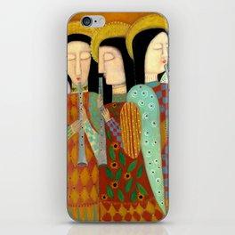 three angels iPhone Skin