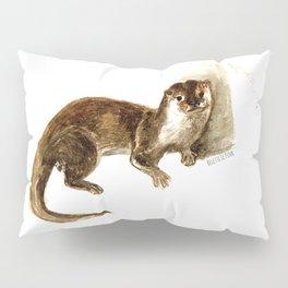 Totem otter: Amblonyx cinerea Pillow Sham