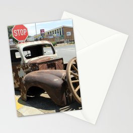 Vintage  Old Car Stationery Cards