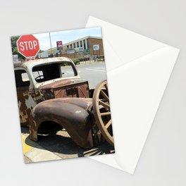 Vintage  Old Car Stationery Cards