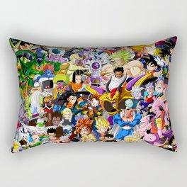 Dragon ball characters Rectangular Pillow